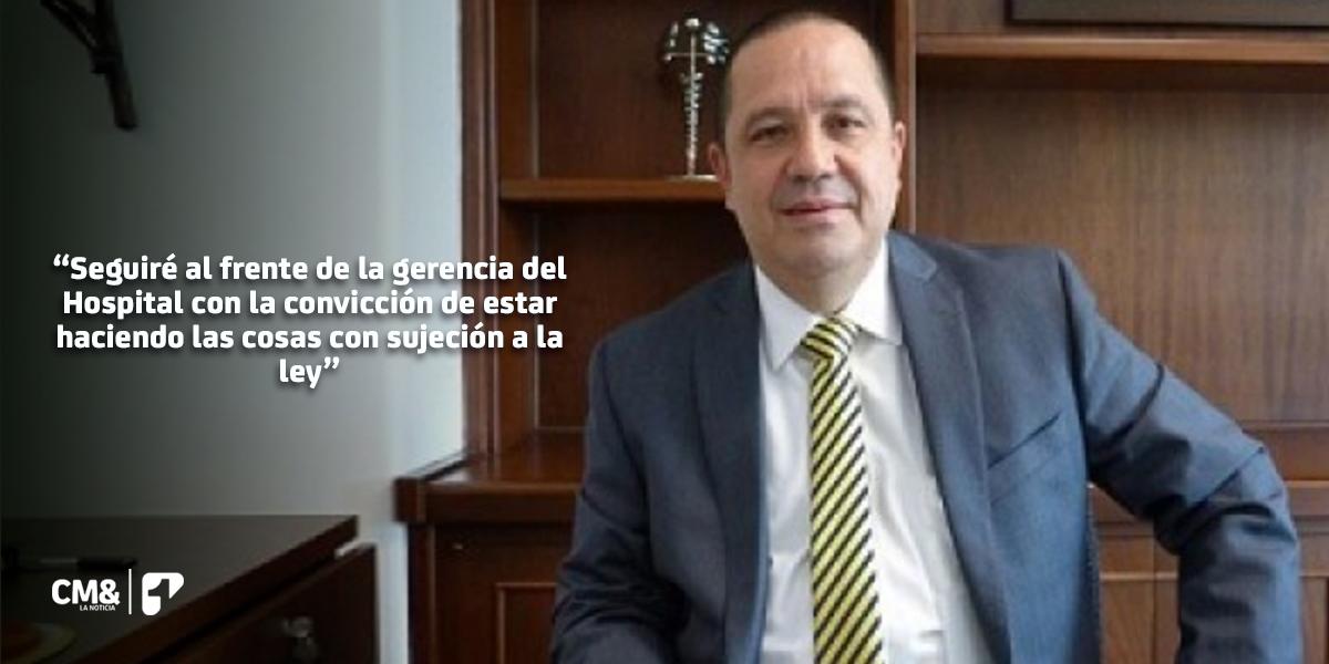 Alcalde de Medellín pidió la renuncia del gerente del Hospital General