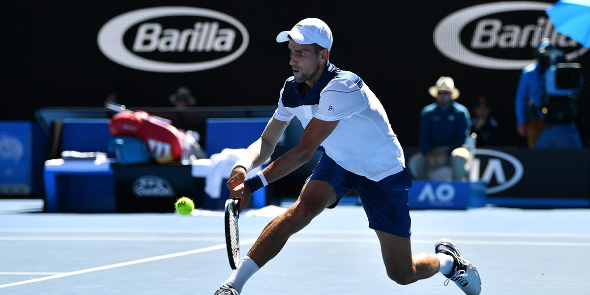 Resultados de Federer, Del Potro y Djokovic — Australian Open