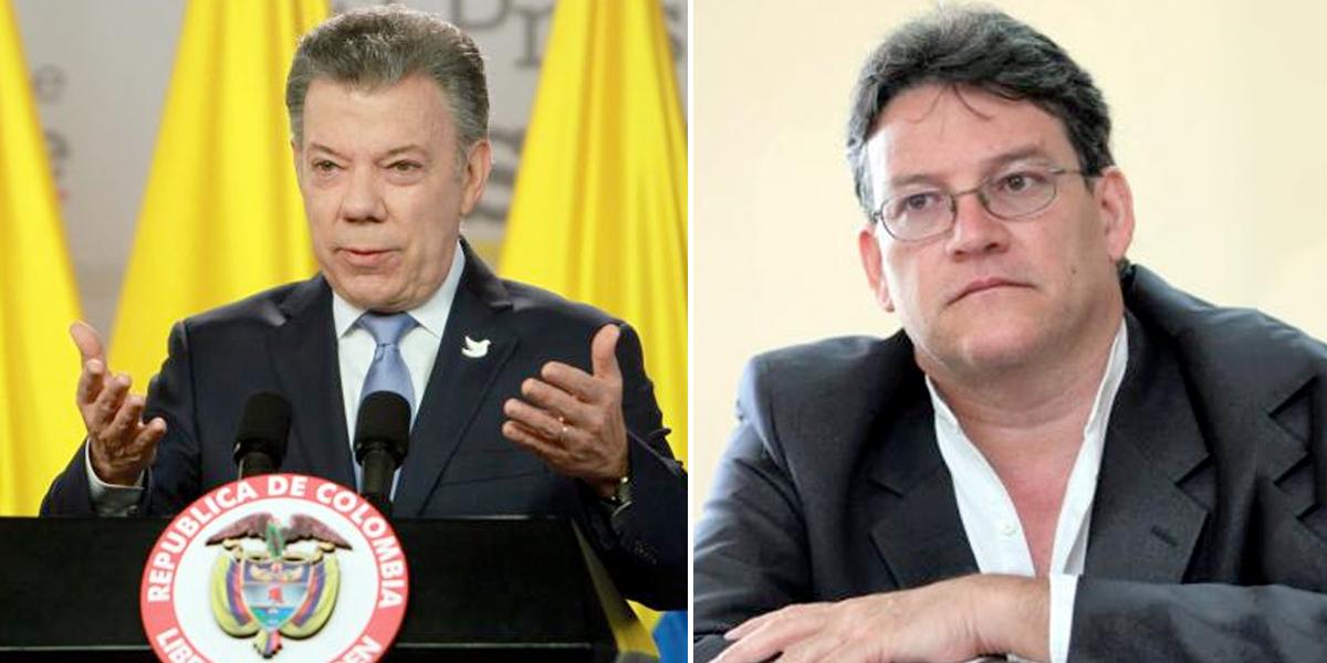 Juan Manuel Santos suspendió los diálogos de paz con el ELN