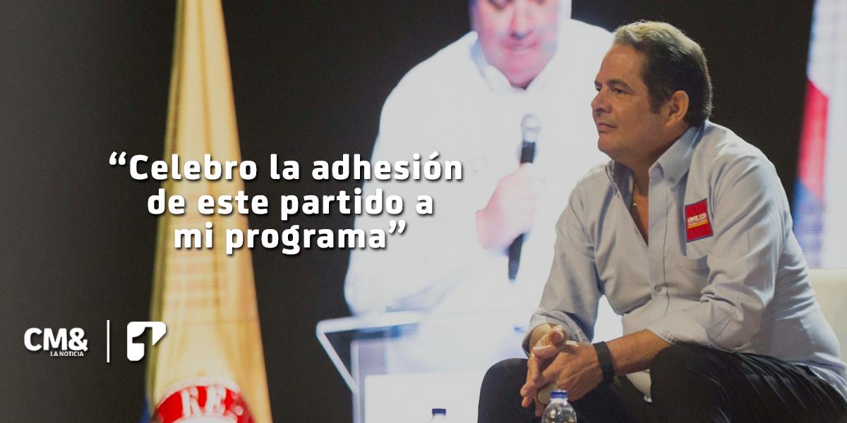 Cambio Radical oficializa adhesión a candidatura presidencial de Vargas Lleras