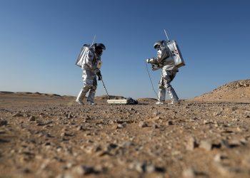 Amadee 18 Marte en la Tierra