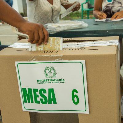 votaciones elecciones comicios congreso presidencia registraduria voto en blanco consultas