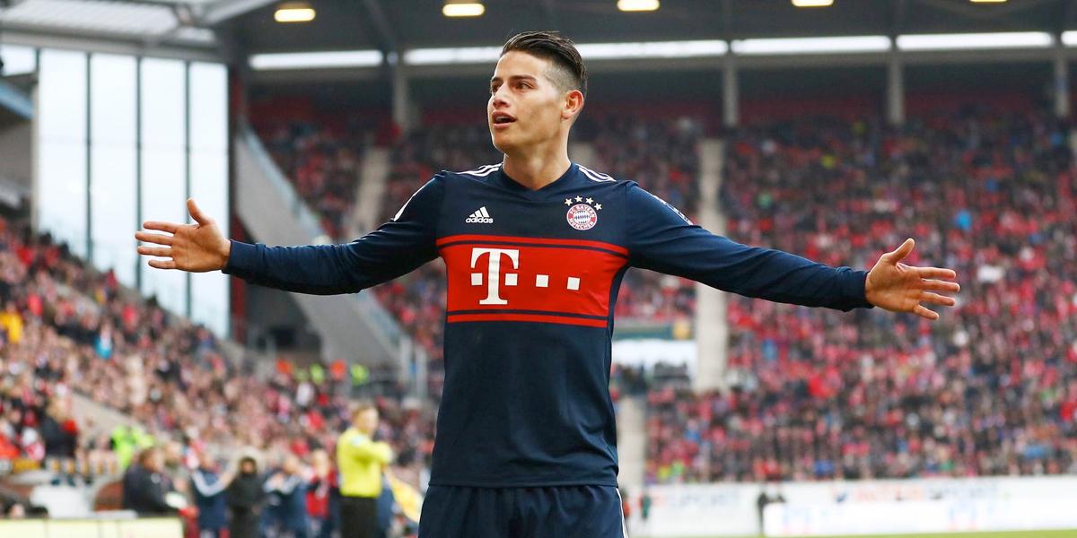 James Rodríguez fue reconocido por la Bundesliga como uno de los 'latinos de la década'