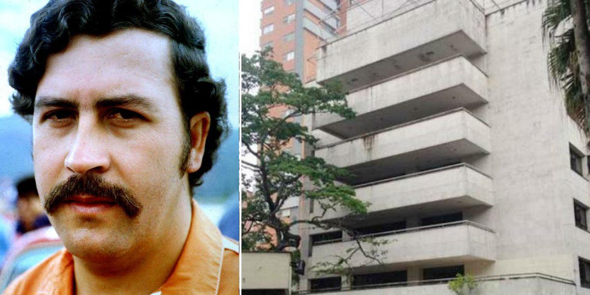 Captan supuesto fantasma de Pablo Escobar en edificio donde vivió el narco