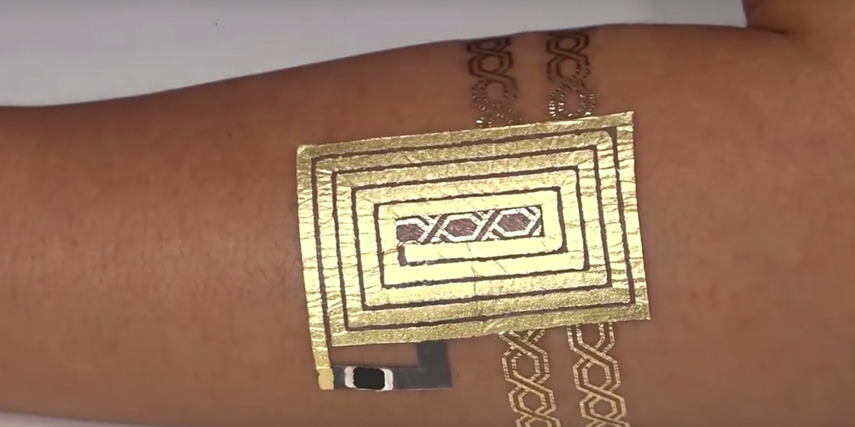 Inventan Tatuaje Electrónico Que Mide Ritmo Cardíaco Y Temperatura