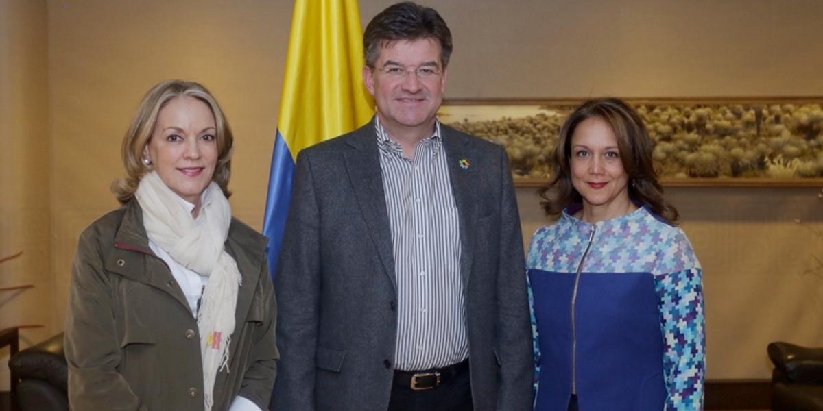 Presidente de Asamblea de la ONU mantiene visita por Colombia