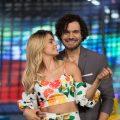 """Cristina Hurtado y Josse Narváez conductores de """"Guerreros Colombia"""" / FOTO: Digital Canal 1."""
