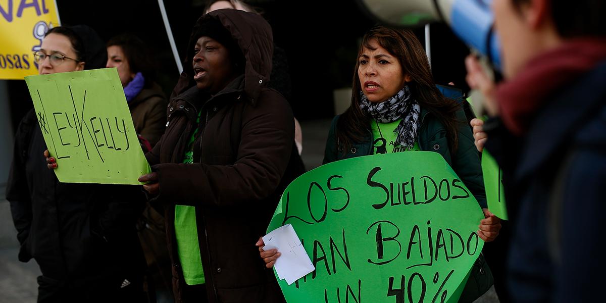 Día de la Mujer: miles marchan hoy en defensa de sus derechos