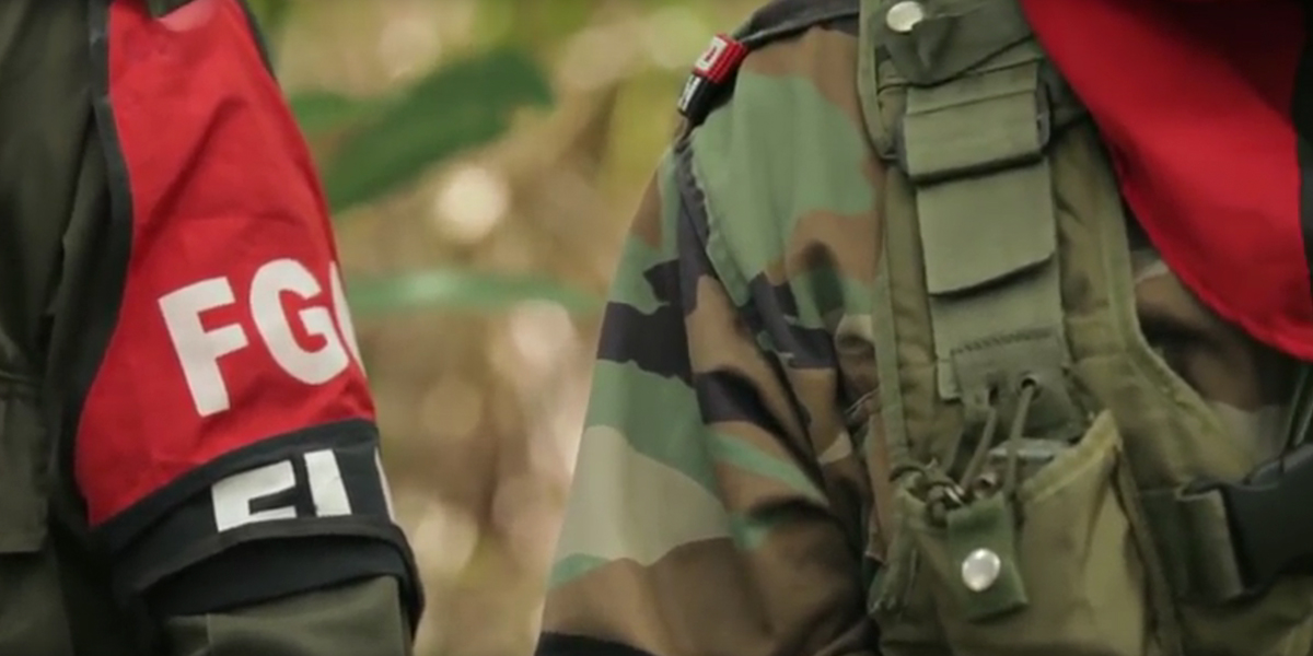 Ejército colombiano mata a una decena de guerrilleros del ELN en bombardeo