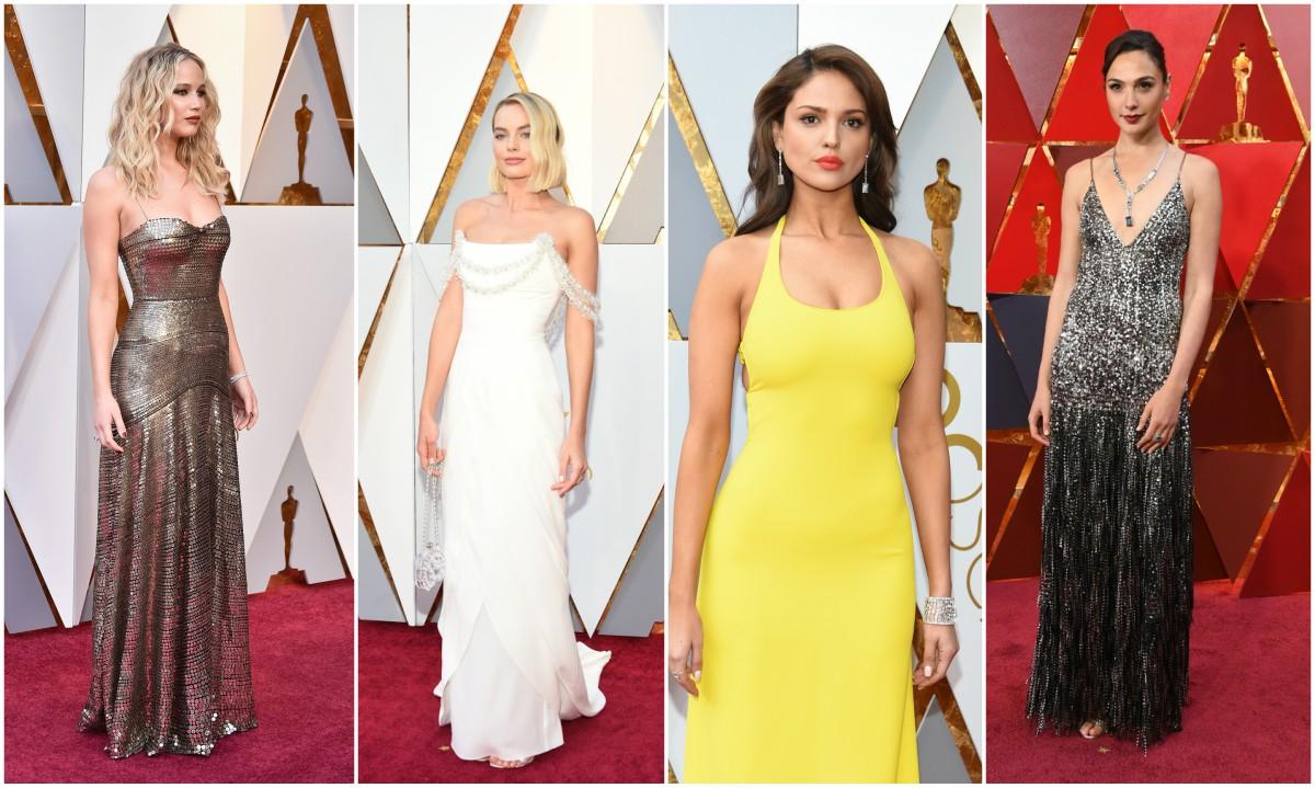 La alfombra roja de los Óscar deja de lado el negro