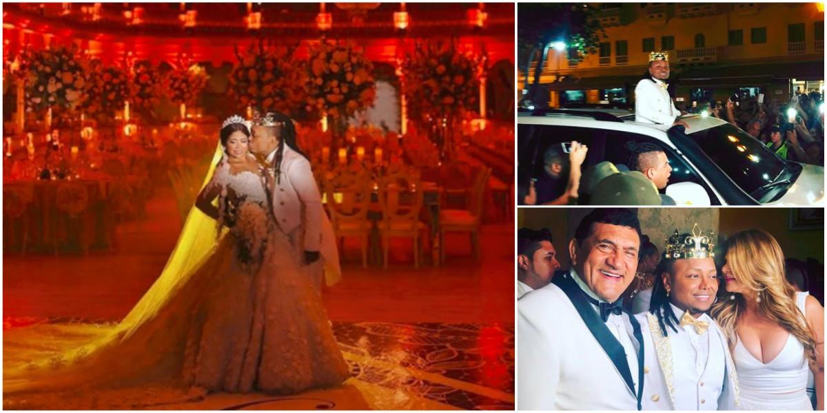 Matrimonio Mr Black : El extravagante matrimonio de mr black y yuranis que da