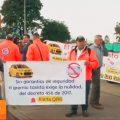 taxistas protestas aplicación taximetro tablets primera hora