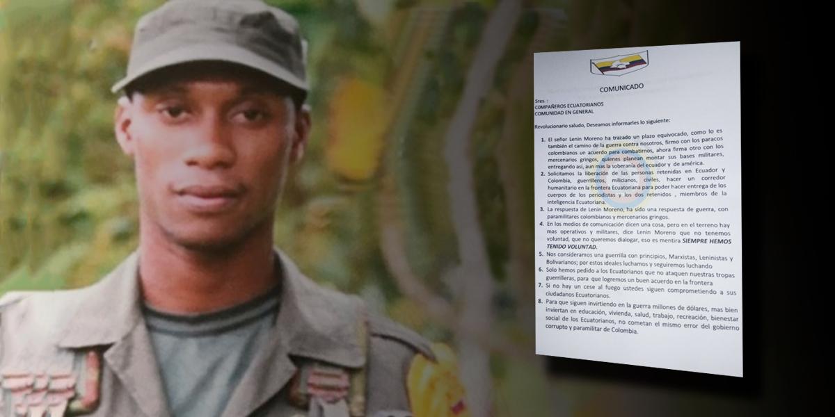Alias Guacho condiciona la entrega de cuerpos de periodistas