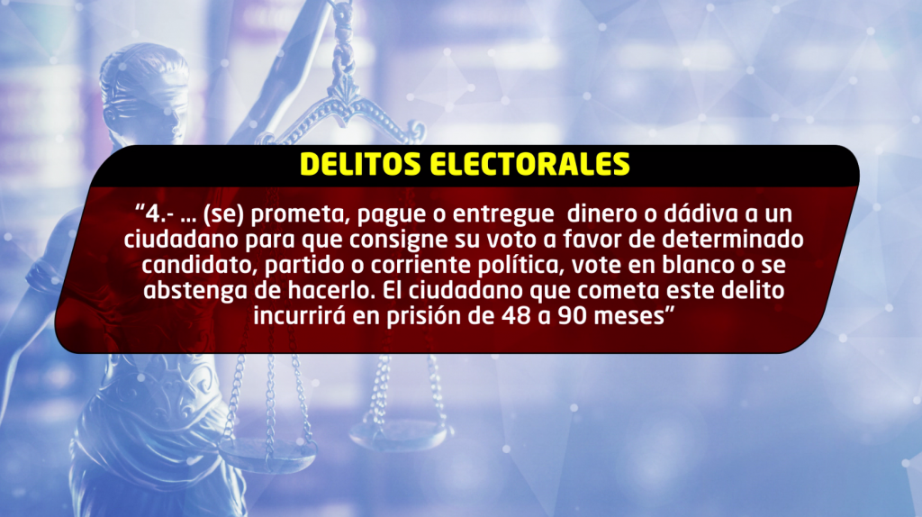 Delito electoral