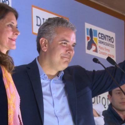 Colombia: Iván Duque gana la presidencia en balotaje