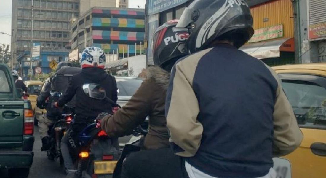 Prohibición al tránsito de parrillero hombre se extiende hasta agosto en Bogotá