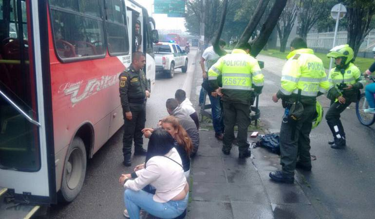 Escoltas de Iván Duque en Bogotá frustran atraco masivo en un bus