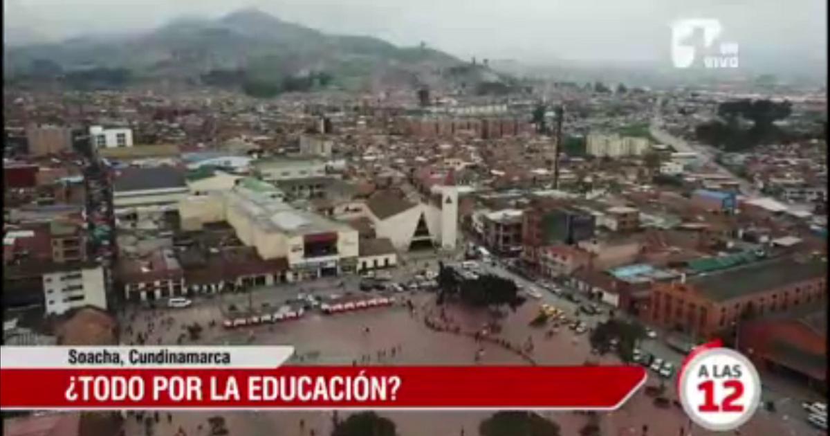Denuncian que alcalde de Soacha beneficia con millonarios contratos a colegio que fundó