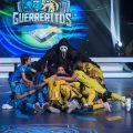 """Los niños se tomaron el Canal 1 en """"Guerreritos"""" / FOTO: Digital Canal 1."""