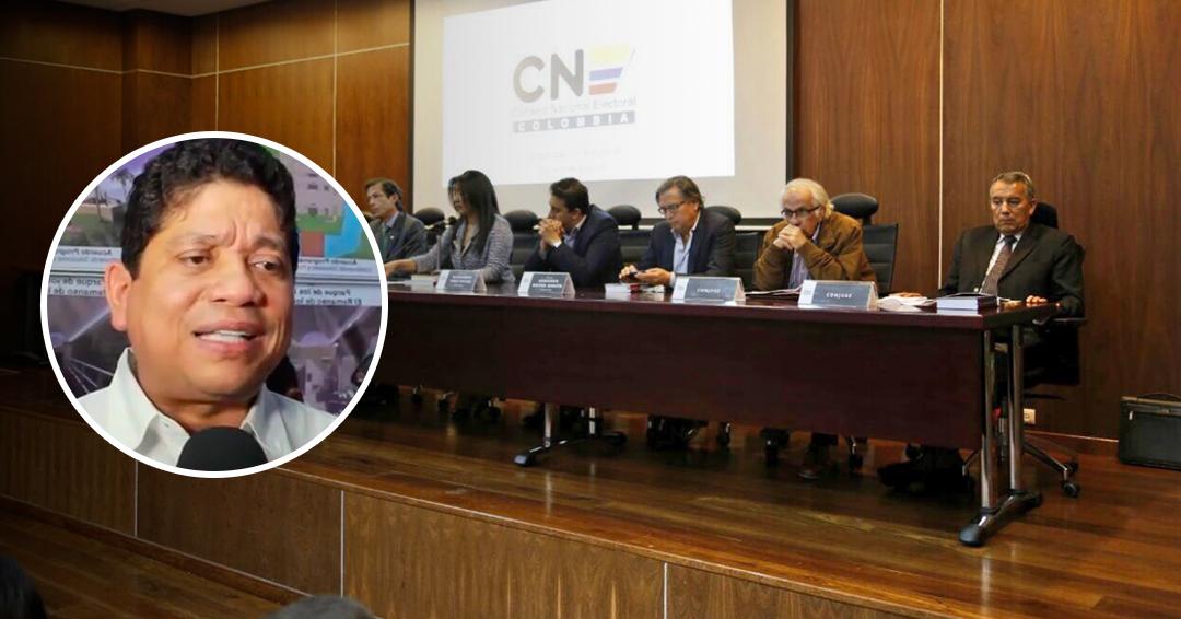 CNE deja en firme candidatura de Quinto Guerra a Alcaldía de Cartagena