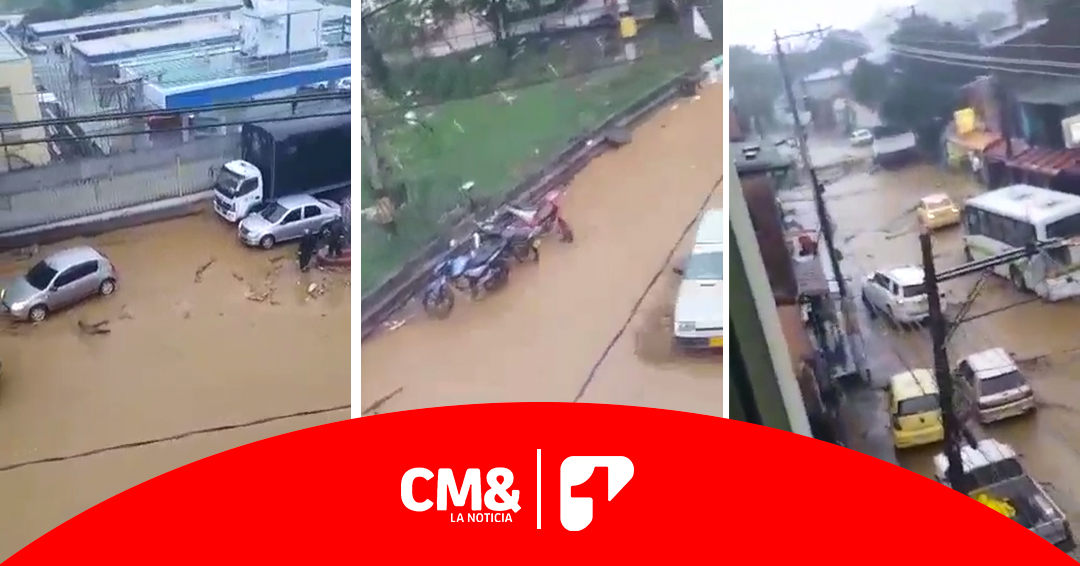 Más de ocho viviendas afectadas por desbordamiento de quebrada en Bello, Antioquia