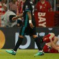 robert lewandowski penalti bayern munich real madrid champions league afp