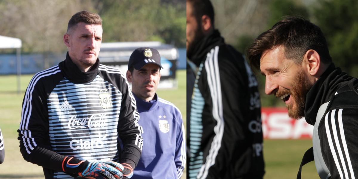 #Mundial2018: Pavón y Armani contaron qué se siente jugar con Messi