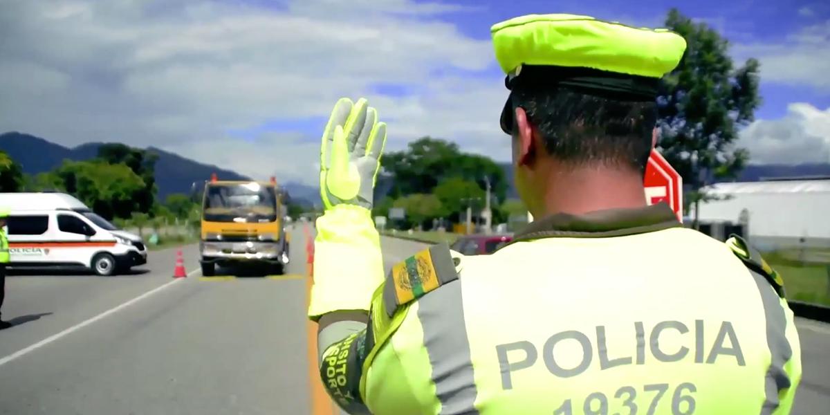 Más de 2.000 conductores sorprendidos violando cuarentena en vías nacionales
