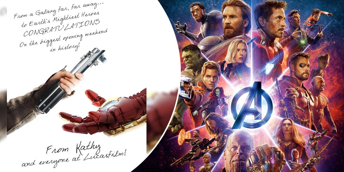 Infinity War fue un éxito durante su estreno — Avengers