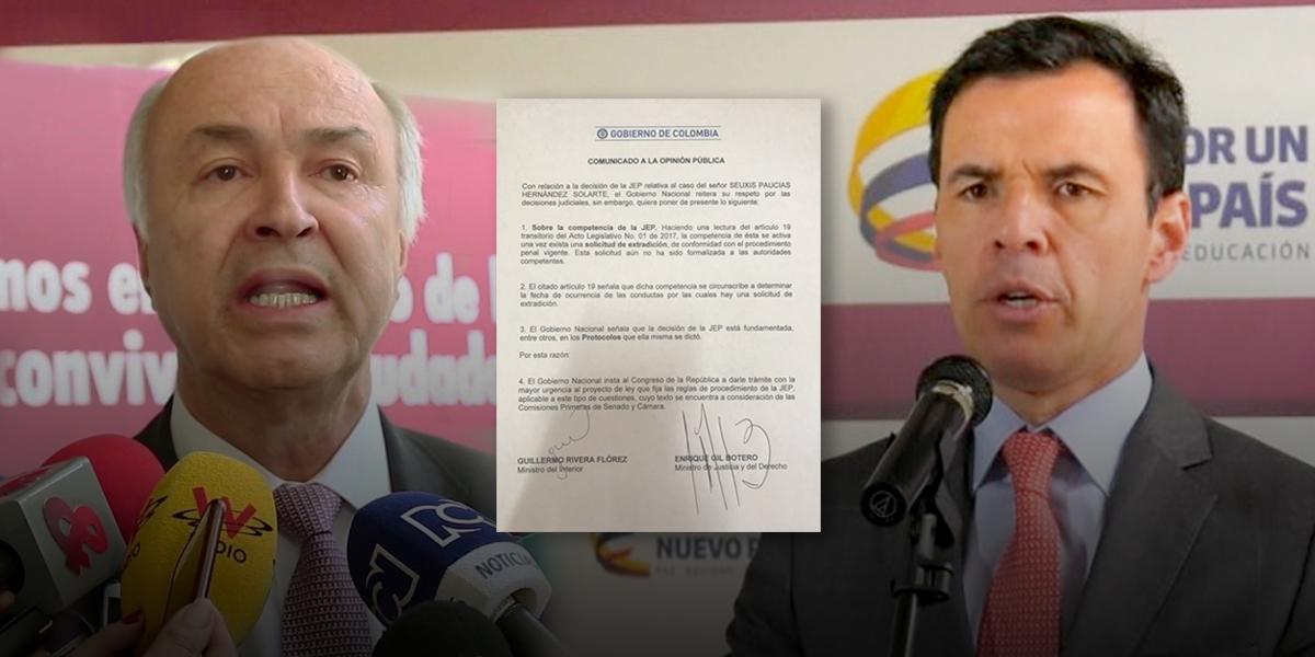 JEP suspende extradición de Jesús Santrich