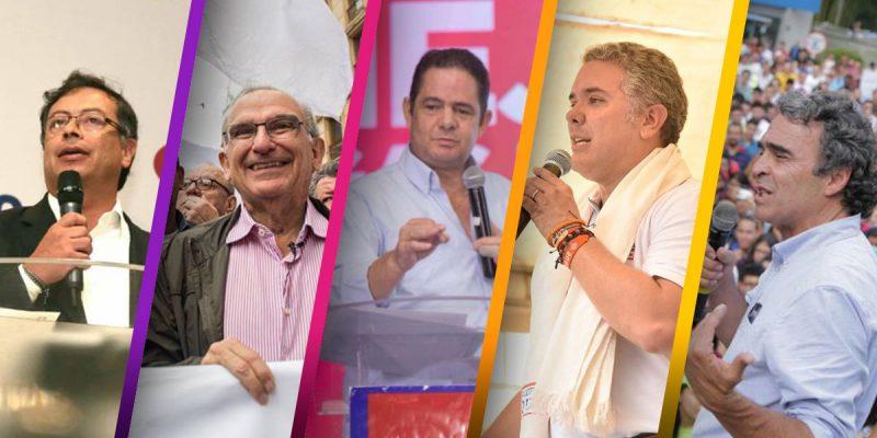 candidatos presidencia colombia gastos de campaña consejo nacional electoral