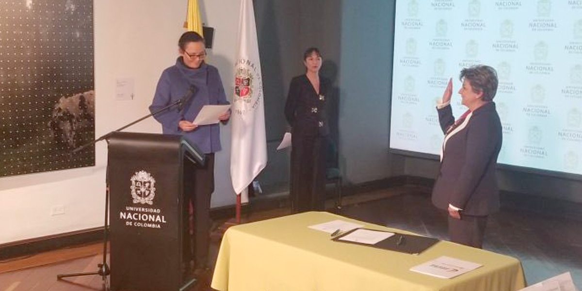 La Universidad Nacional de Colombia ya tiene nueva rectora