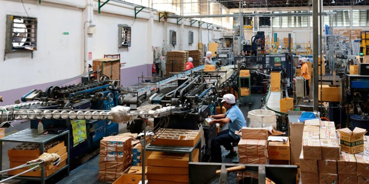Producción industrial en noviembre registró variación de -1,5 %