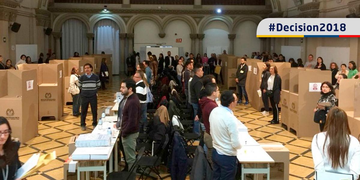 Se Abren Urnas En El Exterior Colombianos Habilitados Para Votar