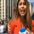 Periodista colombiana acosada sexualmente - Foto: captura video