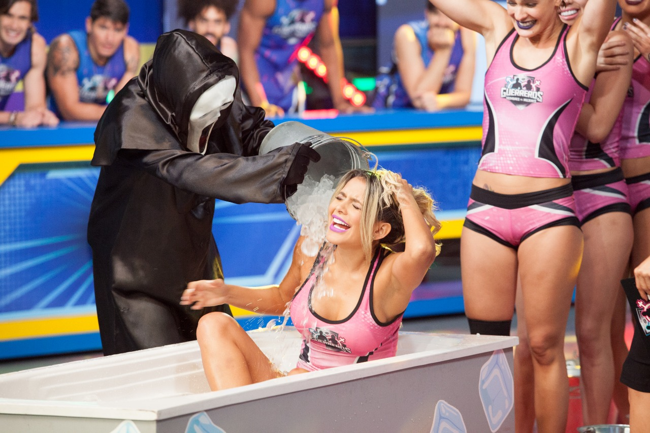 "Paola Usme 'Baribie' en ""Guerreros"" / FOTO: Digital Canal 1."