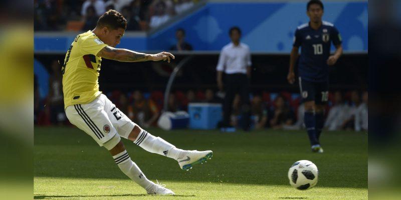 juan fernando quintero tiro libre seleccion colombia japon mundiales