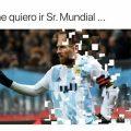 memes lionel messi argentina croacia caballero