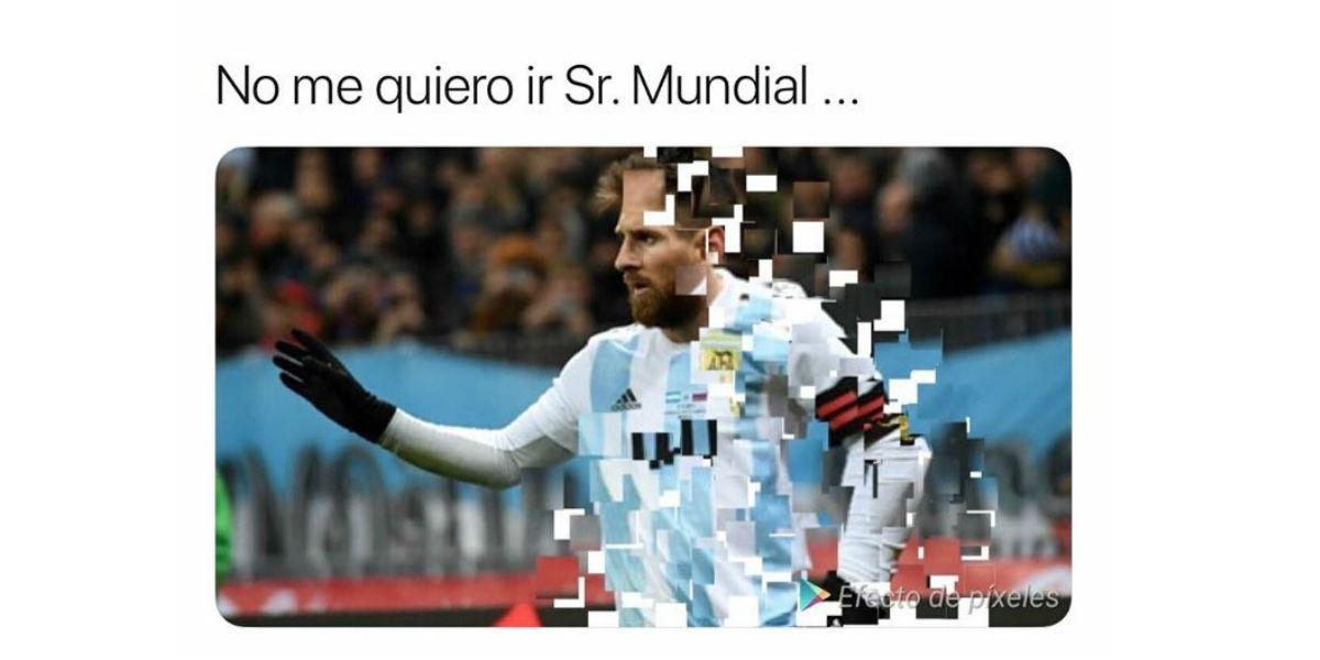 los mejores memes de la derrota de argentina con croacia