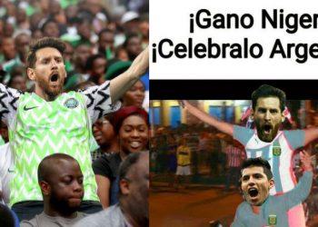 memes messi argetina nigeria islandia mundial de rusia