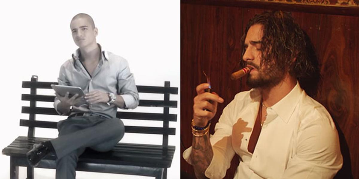 Los impresionantes cambios de Maluma a lo largo de su carrera musical