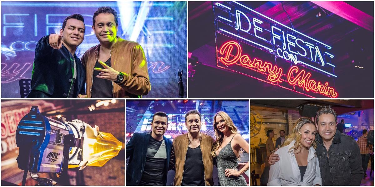 """De Fiesta Con Danny Marin"" / FOTO: Digital Canal 1."