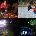festival de verano 2018 Bogota ciclovia nocturna