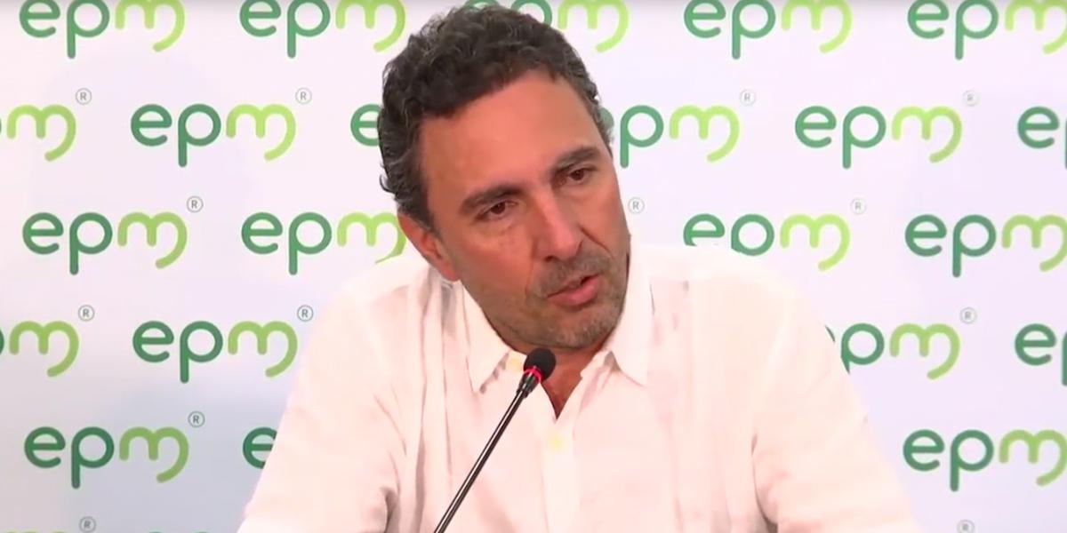 Renunció el gerente de EPM, Jorge Londoño De la Cuesta