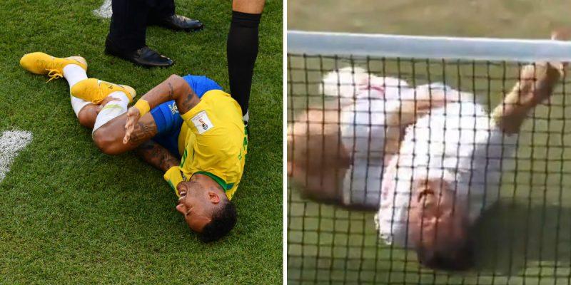 neymar challenge wimbledon Jonas Björkman