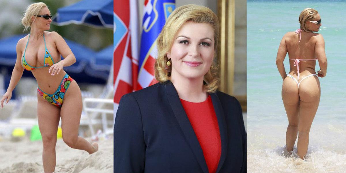 Las Fotos Falsas De La Presidenta De Croacia Que Circulan En Redes Sociales