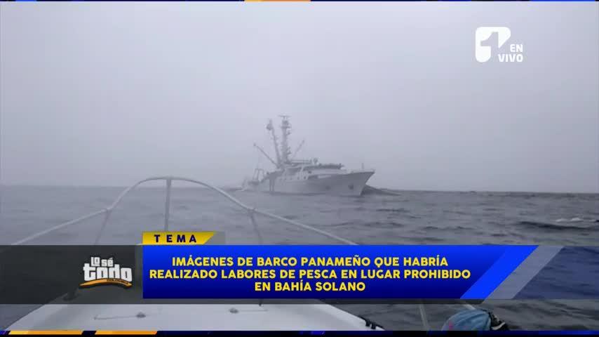 Denuncian que barco panameño hacía pesca ilegal en costas colombianas
