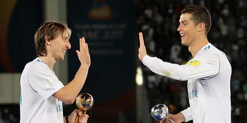 Luka Modric y Cristiano Ronaldo en el Real Madrid - Foto: AFP