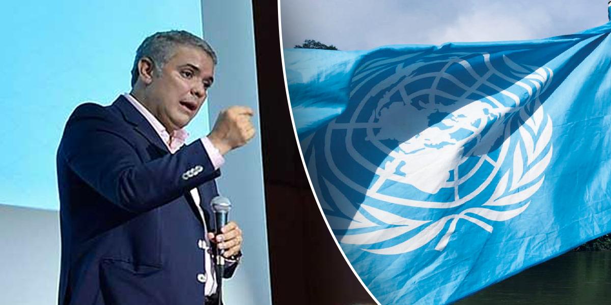 La solicitud de Duque y las Farc a la ONU