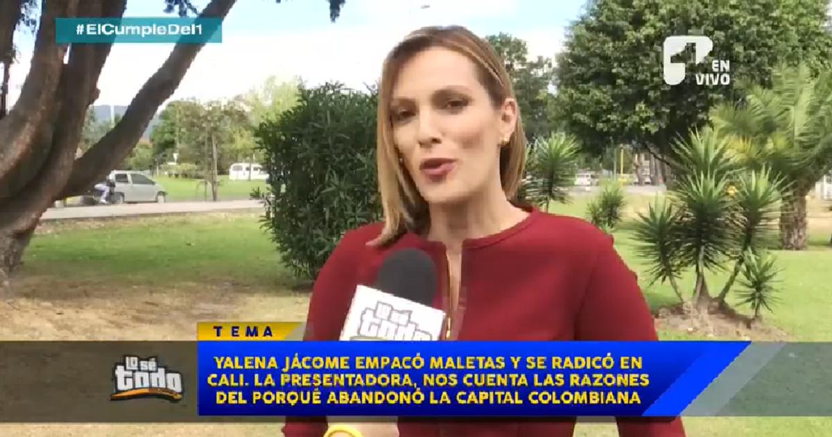 Nuestra presentadora Yalena Jácome empacó maletas y abandonó la ciudad